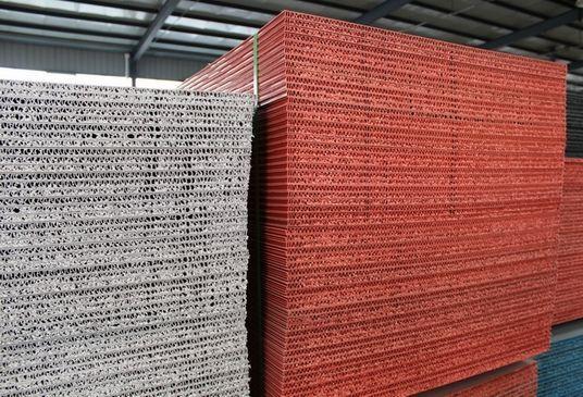 中空塑料建筑模板 新型建筑模板 循环次数40次以上