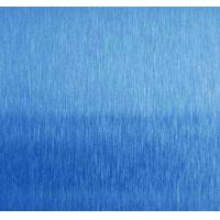 彩色不锈钢天蓝色雪花砂/发纹磨砂板