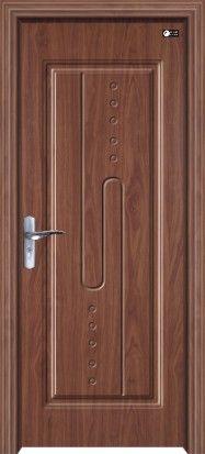 广东佛山贴木皮欧式现代自由风格式烤漆门