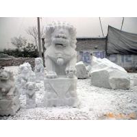 石狮子北京石狮子汉白玉石狮子