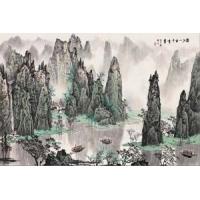 南京绿美居壁画厂-个性定制-中国风