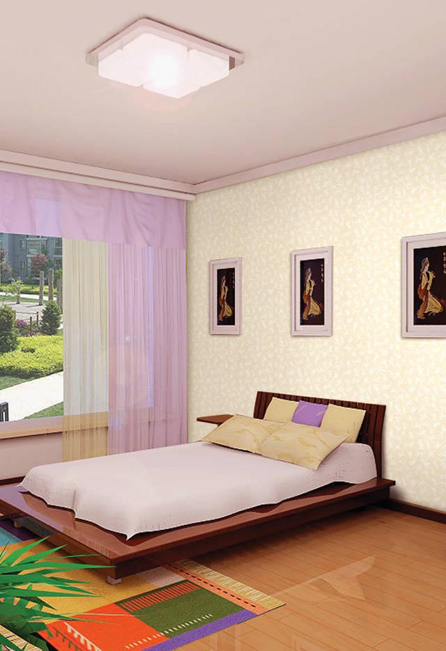房间墙纸设计效果图