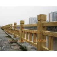 遂宁力达仿木景观栏杆/市政仿木栏杆/仿木护栏