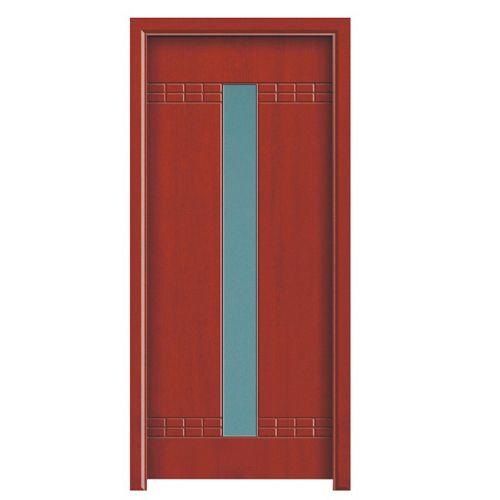 棕红色门怎么搭配图片