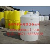昆明无污染水桶 食品级PE水箱 水处理预处理水塔 圆形水桶