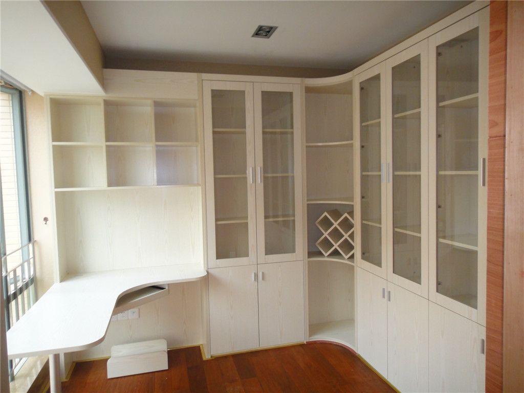 广州定制转角书柜【电脑桌组合书柜】书桌书柜 实木家具 加工