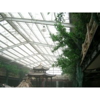大量供应温室大棚板饲料棚板苗圃PC采光板