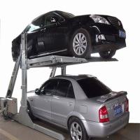 【简易车库】小区住宅两层立体停车设备/双层停车位