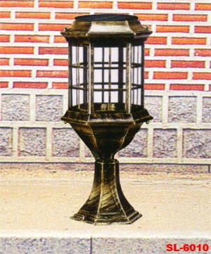 太阳能柱头灯|陕西西安索伦太阳能照明