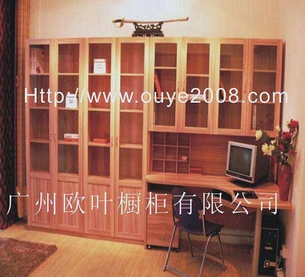 书柜隔墙设计图