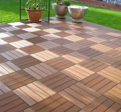 塑木地板 陕西西安宏艺达塑木园林景观