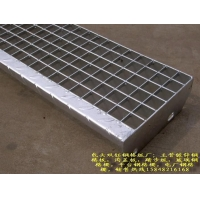 鄂尔多斯 东胜平台钢格板--镀锌钢格栅板