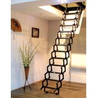 全自动阁楼楼梯多少钱  北京阁楼楼梯价格 阁楼楼梯图片